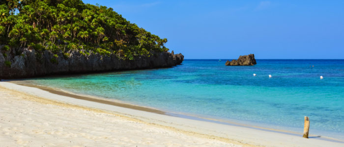 West Bay Beach in Roatan
