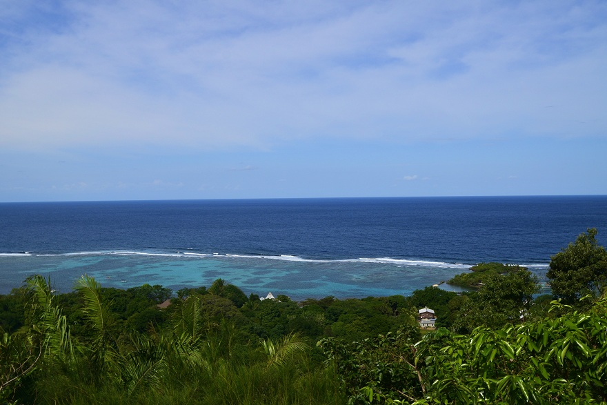 Ocean View Hill Top Home Sandy Bay About Roatan Real Estate